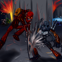 BNG: Empire - Toa Fighting by JarODragon