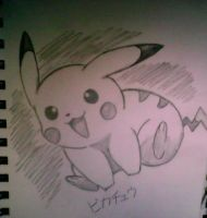 Just Pikachu by XSlappyTheDummyX