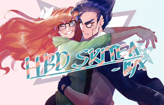 HBD SKITEA!!! by Billiam-X
