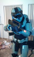 Halo Reach Spartan 3 costume by Janan326