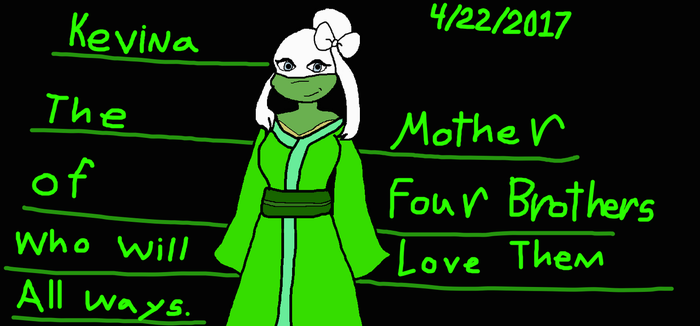 Meet The Lost Mother Known As Kevina by Elzathehedgehog