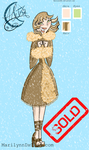 SOLD-TD OC Auction - Snow Girl by gabymellow