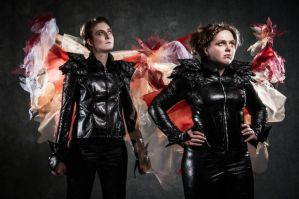 'Let The Games Begin' - Katniss and Peeta Cosplay by OxfordCommaCosplay