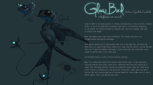 Glow Bird | Luciferopennata cavernicula by UltimateTattts