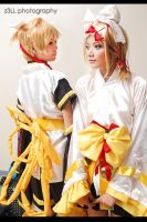 Vocaloid : Kagamine Twins by z3LLLL