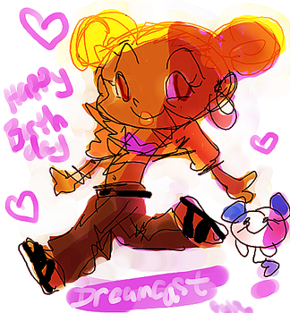Happy 7th Birthday Dreamcast by candybeyatch