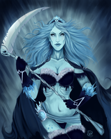 Queen of the Frozen Underworld by StarshipSorceress