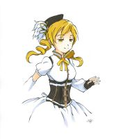 mami tomoe by laurippo