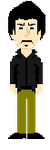 Claude in Maniac Mansion style by The-BaneBlade