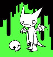 Batboy.... with GREEN by CaptainKunai