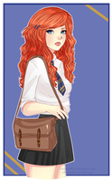 Rose Weasley by robotswilcry