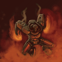 Lava Robot Colab by CloudDestroyer