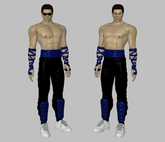 Johnny Cage MK2 mod by dim1988