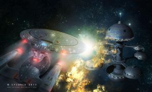 star trek armageddon by cylonka