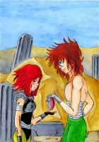 Sophie and Regulus by The-Last-Silver-Moon