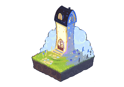 Tiny tower by LoftyAnchor