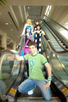 Scott and the Ladies by CosplayCousins