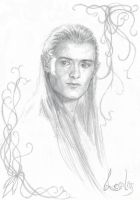 Legolas, Prince of Mirkwood by LauraAthena