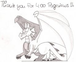 400 Pageviews by DarkDragon1010