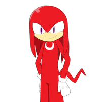 Knuckles the Echidna by migi64