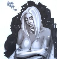 Wicked Witch of the White: Emma Frost. by N3M0S1S