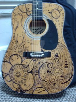 guitar by wildwillowoods