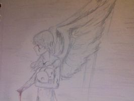 Angel of Blood and Bones by Lovely-Madness-13