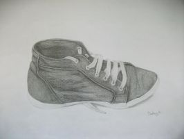 still life with my shoe by BeaMaia