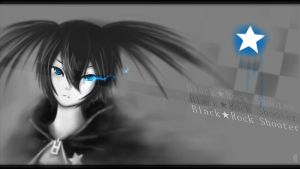 Speedpaint - Black Rock Shooter by FixelCat