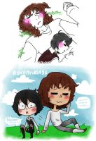 WTF ANOTHER COLLAB aww how cute by Reye-chan