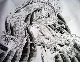 chinese dragon by arty147
