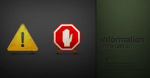 information icon set2 by AndexDesign