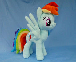 Rainbow Dash Plush V3 by Wild-Hearts