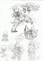 .:DOODLES:.Love Spell by Jessicathehedgehog55