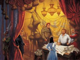 'Knife of Dreams' cover by Darrell K. Sweet by ArcangHell