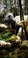 The Land of Dinosaur by TH3M4G0
