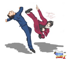 PW: Phoenix Wright Fighter II by FoWo