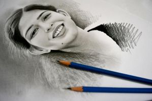 Smile by realisticartsachin