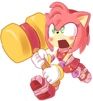 Sonic Boom - Amy Rose by Q184