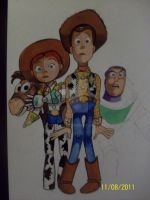 Toy story by Firefaryee