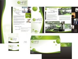 I FIT  corporate identity by mikzack