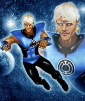 Blue Lantern AfghanAnt by IUltrahumanite