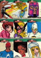 Marvel Sketch cards 8 by Julianlytle