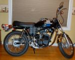 1973 Z-90 Harley-Davidson right by Caveman1a