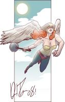 Hawkgirl for a Hot Girl... by narutowannabe