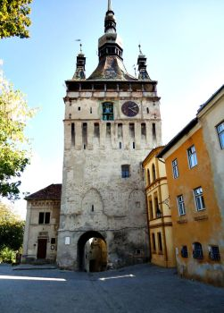 Sighisoara Clock Tower by cipriancc