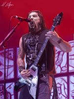 Robb Flynn painting by art-of-bart