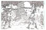 Elektra vs Psylocke a commission by pipin