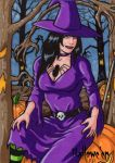 Hallowe'en - Artist Proof 1 (Witch) by ElainePerna