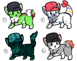 10 Point Adoptables TAKEN by P0CKYY